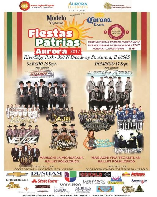 Fiestas Patrias Aurora
