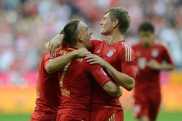 'Scarface' sacó la casta por parte del Bayern Munich en su duelo con el...