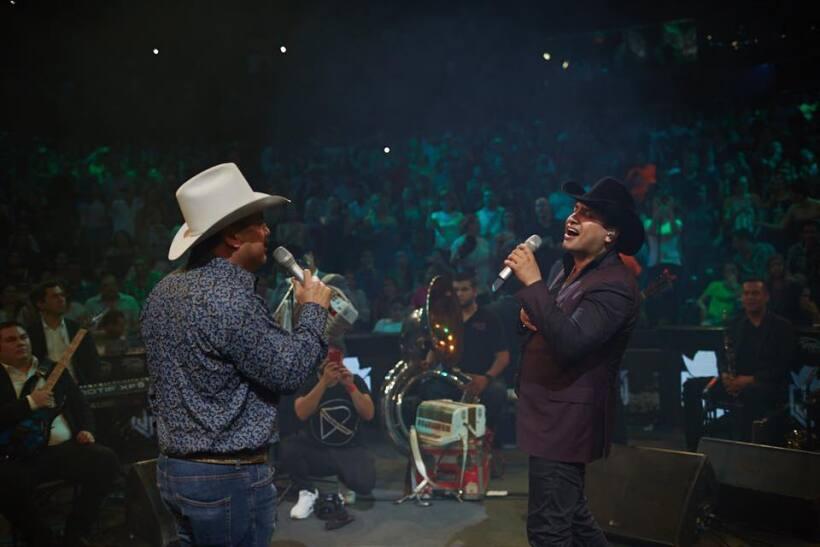 Julión Álvarez en el Domo Care Monterrey