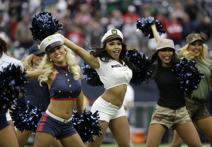 Frío y calor en la Semana 11 de la NFL, pero las cheerleaders ¡siempre h...
