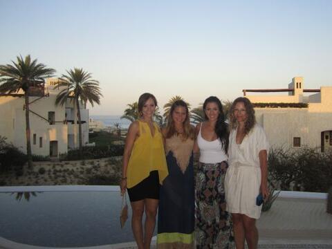 Satcha Pretto se fue a Cabo San Lucas, México, a festejar su desp...