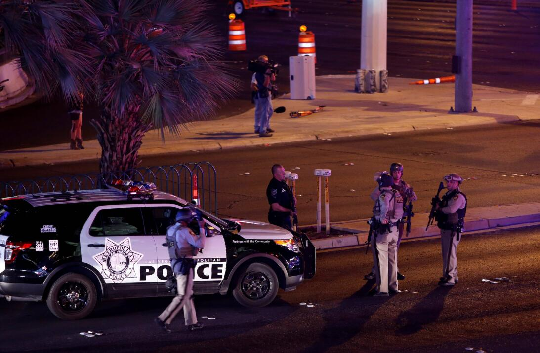 En fotos: Tiroteo en Las Vegas deja múltiples muertos y heridos cerca de...