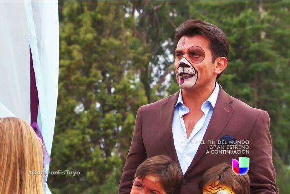¿Qué te pasó Fernando? Estás pintado de perrito.