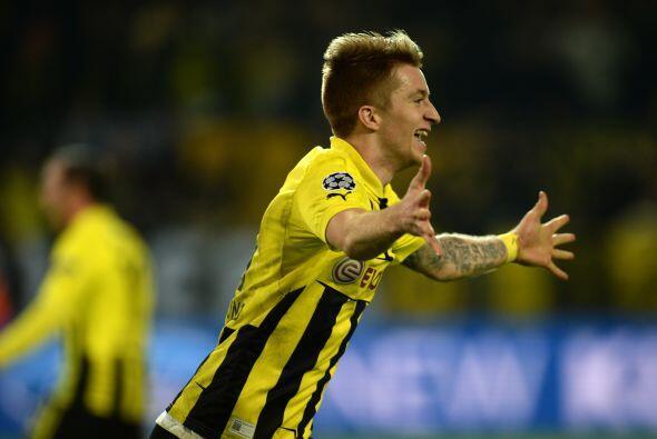 En el último minuto de tiempo oficial Marco Reus empató el partido, solo...