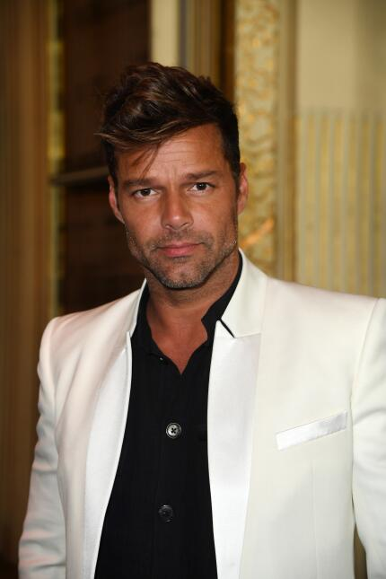 Ricky Martin attends the Balmain Menswear Spring/Summer 2017 show as par...