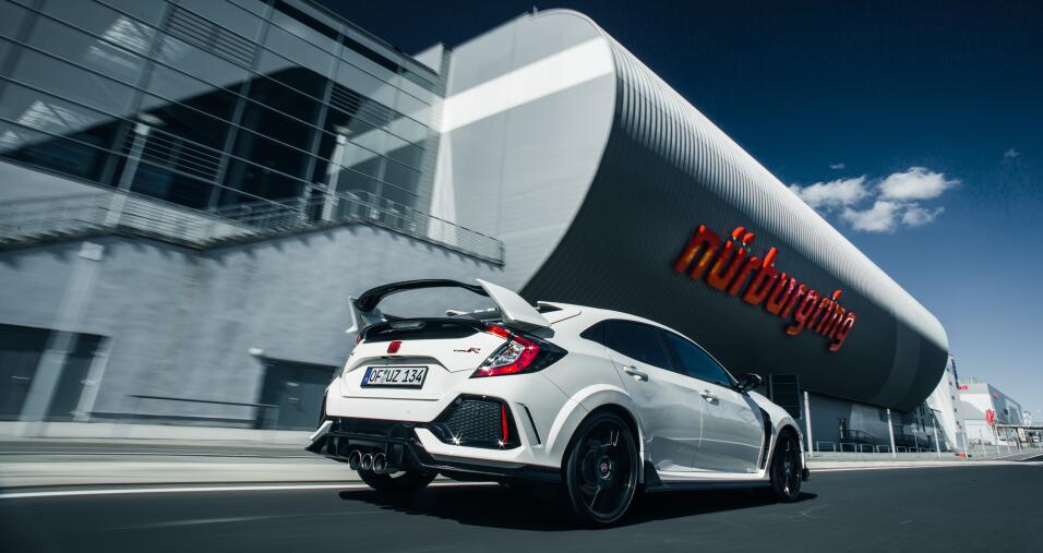 Honda Civic Type R en el Nürburgring