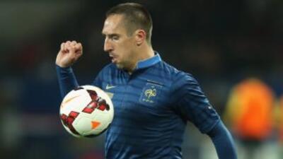 Franck Ribéry es la máxima estrella del fútbol francés.