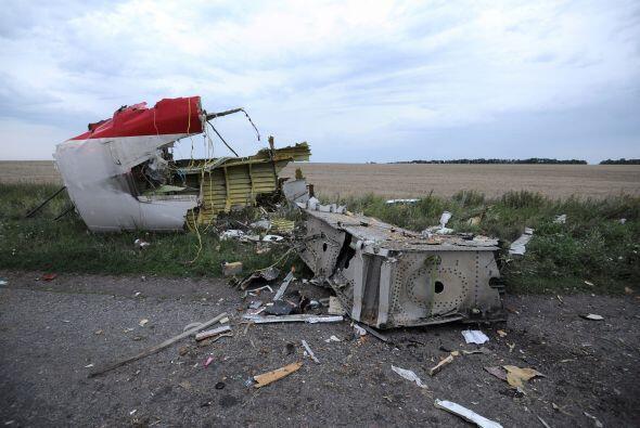 La aeronave se estrelló en la región de Donetsk (este ucra...