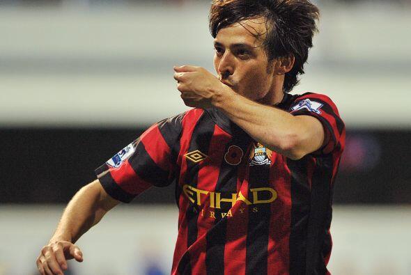 El City jugaba mejor y se puso arriba con un tanto del español David Jim...