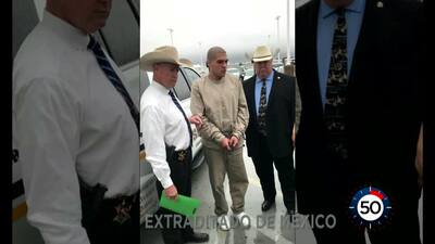 En Un Minuto Houston: Extraditan desde México a un joven acusado de dos asesinatos en el área de Baytown en 2015