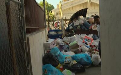 Tras la denuncia hecha en Univision 34, recogieron los excesivos residuo...