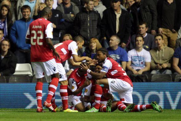 El sorprendente Braga sigue enrrachado y derrotó a los ingleses por 3-1.