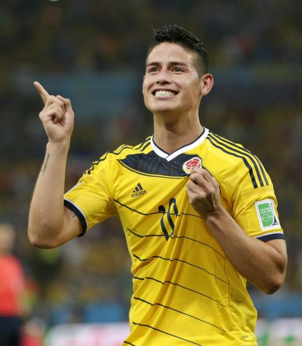 James celebró su cumpleaños 26 con la firma del contrato en el Bayern  A...