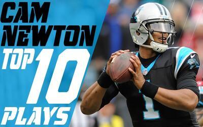 Cam Newton cumple 28 años y lo festejamos con lo mejor de su carrera