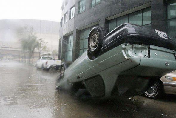 Huracán Katrina. Considerado por algunos como uno de los fenómenos natur...