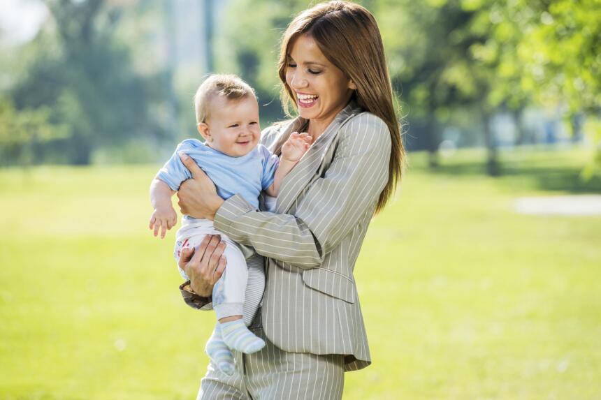 'look' de oficina 'post baby'