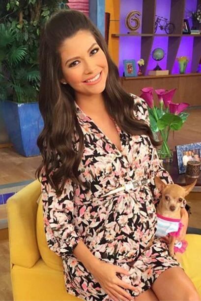 Este 18 de febrero, Ana cumplió siete hermosos meses de embarazo.