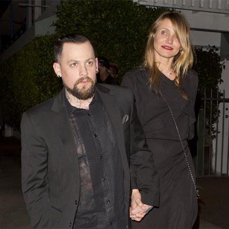 Cameron Diaz y su marido Benji Madden