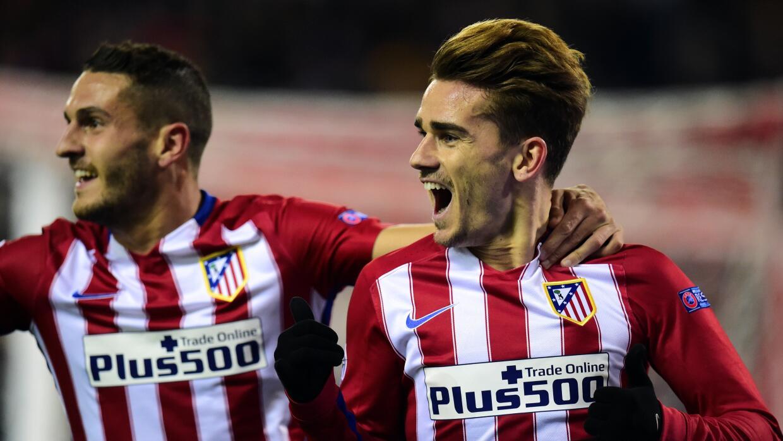 Griezmann golea y Atlético pasa a octavos