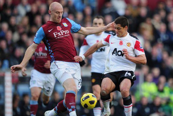 El partido comenzó con una ventaja del Aston Villa por 2 a 0, per...