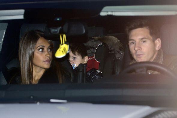 Son Lionel Messi y Antonella Roccuzzo.