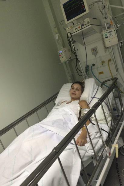 Andressa ha pasado una larga temporada en el hospital.