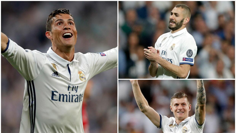 Cristiano le llenó la canasta al Atlético, y los memes también XI Madrid...