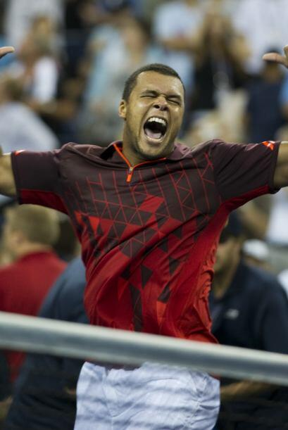 Tsonga se clasificó a cuartos y buscará su segunda final consecutiva en...