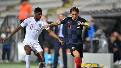 En fotos: Croacia e Inglaterra sumaron su primer punto en la UEFA Nations League