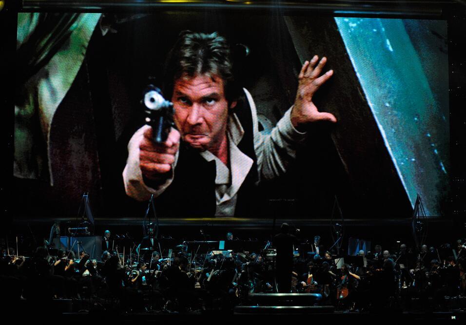 Harrison Ford interpretó a 'Han Solo' en las primeras tres entre...