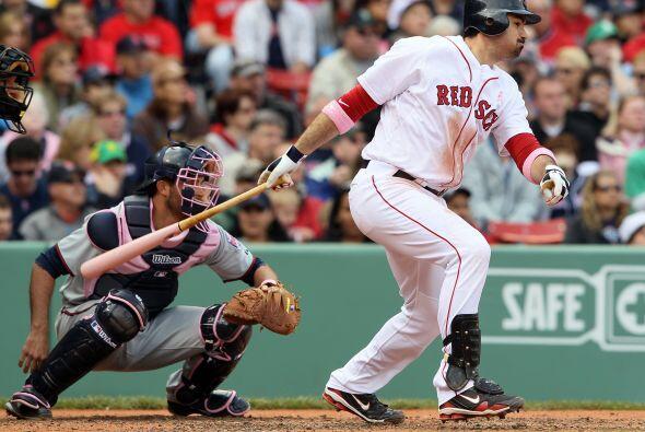 Primera base: Adrián González de Medias Rojas de Boston. El mexicano des...