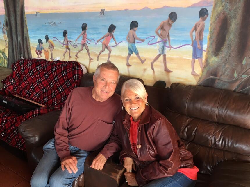 Connie y Tyler Youngkin llevaron hace nueve años 'La Promesa' a un viejo...