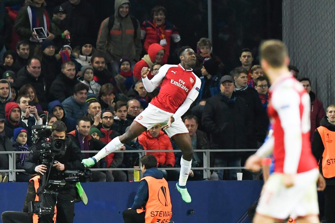En fotos: Arsenal pasó a semifinal de Europa League a pesar de sufrir co...