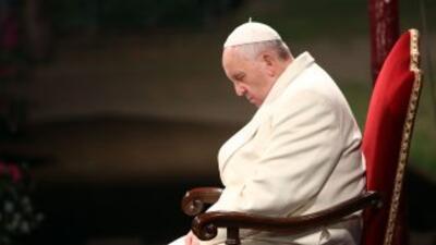 El Papa Francisco presidió el Viernes Santo la ceremonia del Viacrusis.