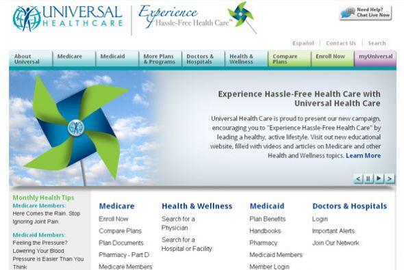 UNIVERSAL HEALTH SERVICES Cantidad de puestos disponibles: 1,500+. Ejemp...