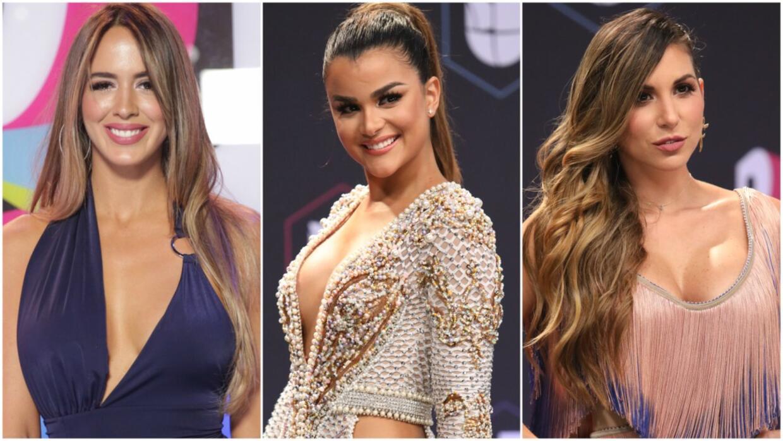 Las famosas más escotadas de Premios Juventud.