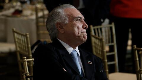 Michel Temer, presidente de Brasil, al borde de una acusación formal por...