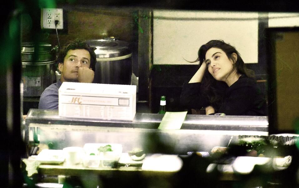 Ambos compartieron una cariñosa cena en Malibú, California.