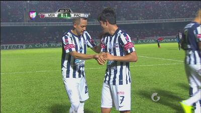 Golazo de Rodolfo Pizarro en el Veracruz vs. Pachuca