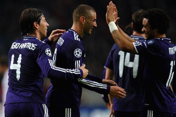 Real Madrid goleó al Ajax 4 a 0 en la quinta fecha de la 'Champions Leag...