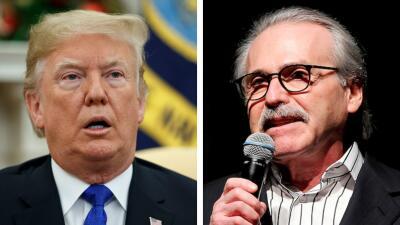 Trump asistió a una reunión con el 'National Enquirer' donde hablaron de pagos para silenciar escándalos, según reportes