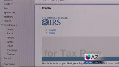 Cuidado con fraude de presuntos agente del IRS