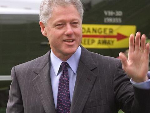 Bill Clinton fue el presidente número 42. El ex gobernador de Ark...