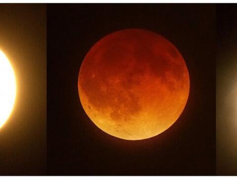 """Este 8 de octubre del 2014 veremos en el cielo la """"luna roja"""", tambi&eac..."""