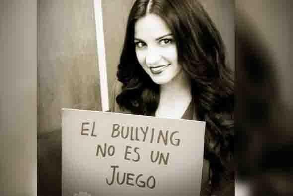 La cantante y actriz mexicana Maite Perroni. Foto tomada de Twitter.