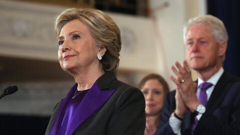 Como ex presidente, él, y como exprimera dama, ella, Bill y Hilla...