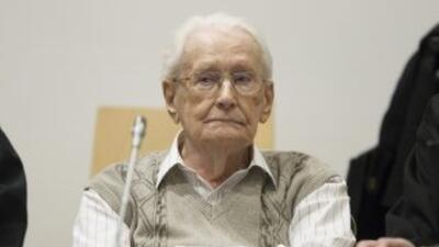 Elex guarda de Auschwitz,Oskar Groening.