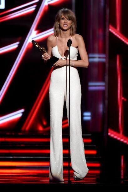 Taylor no dejó de agradecer al público por todo el apoyo recibido.
