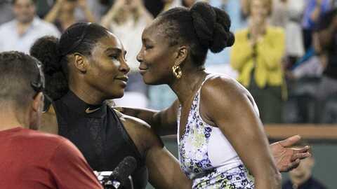 Entre las dos hermanas Williams suman 30 títulos de Grand Slam, 2...