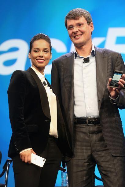La compañía también presentó a la cantante Alicia Keys como su nueva dir...